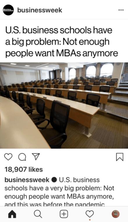 Por qué ya Nadie Quiere estudiar un MBA - mba online vs presencial