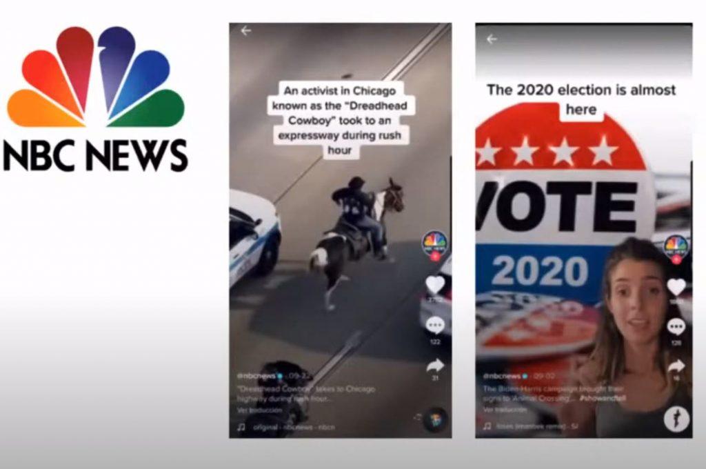 Periodismo en Tik Tok: cómo aprovechar la red social al máximo - nbc 1024x680