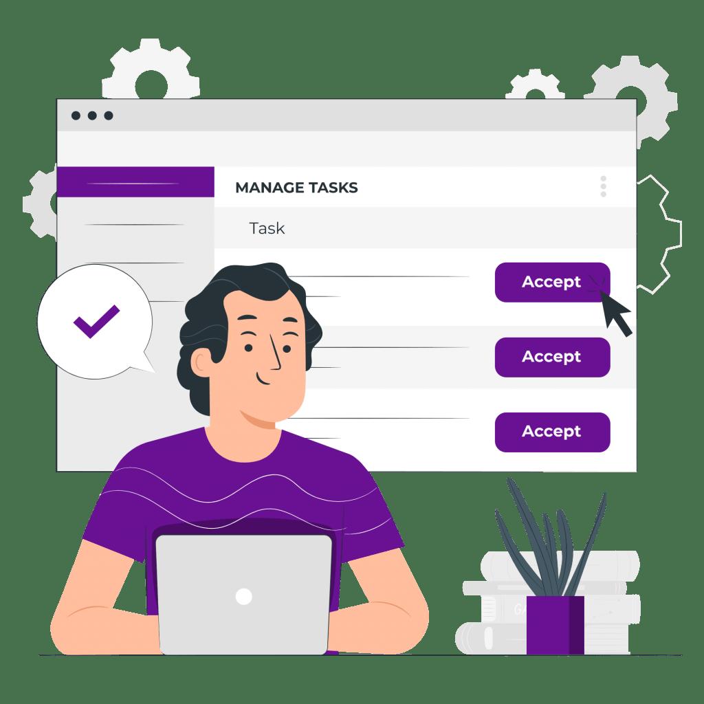 7 características de un emprendedor para gestionar un negocio digital - Accept tasks pana 1024x1024