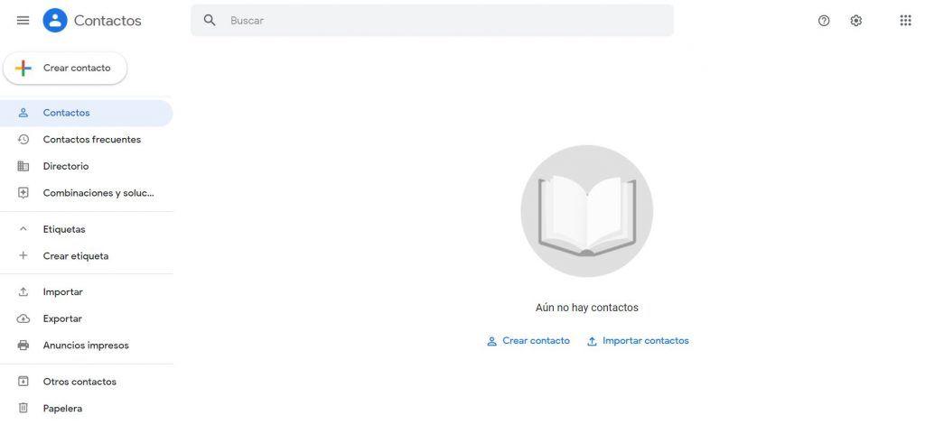 Descubre las mejores herramientas de software de CRM - Google contact 1024x470
