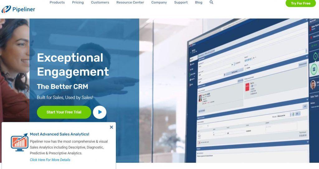 Descubre las mejores herramientas de software de CRM - pipeline 1024x543
