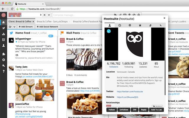 Las 15 mejores extensiones para Google Chrome de Marketing Digital - hootsuite