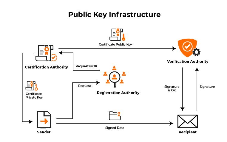 Conoce las herramientas de ciberseguridad para proteger tu empresa - public key infrastructure