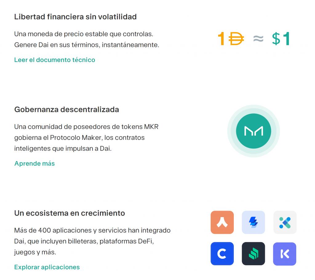 Qué son las Aplicaciones Descentralizadas y varios ejemplos de DApps - MarketDAO 1024x909