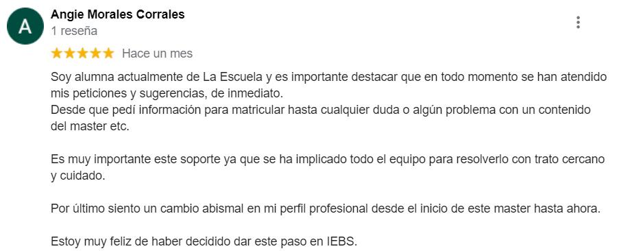 Opiniones de IEBS: Lo que los alumnos opinan de la escuela - image 5