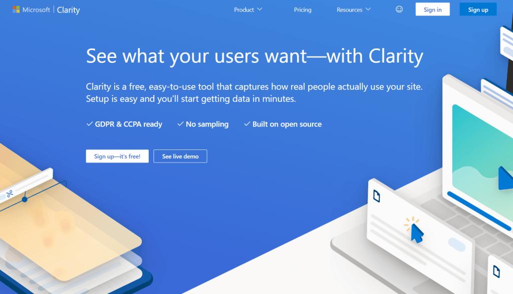 ¿Qué es Microsoft Clarity? La herramienta que analiza la experiencia del usuario - image 17 1024x588