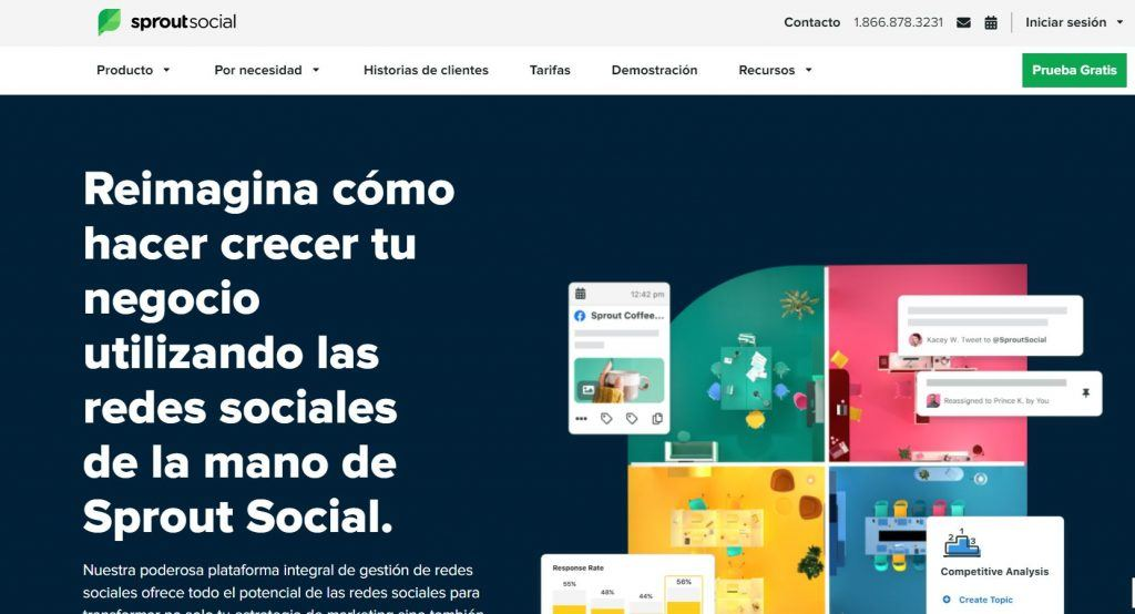 Social Listening: qué es y qué beneficios aporta a una empresa - sprou 1024x554