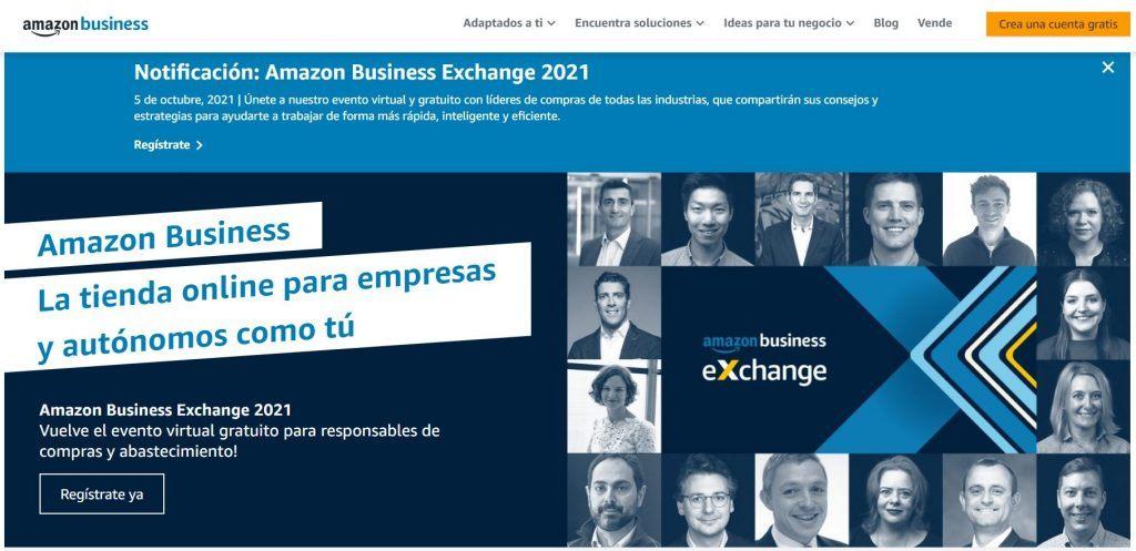 ¿Qué es ecommerce y cómo crear tu propio comercio electrónico? - amazon business 1024x497