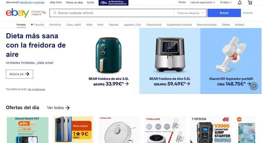 ¿Qué es ecommerce y cómo crear tu propio comercio electrónico? - ebay 1024x557