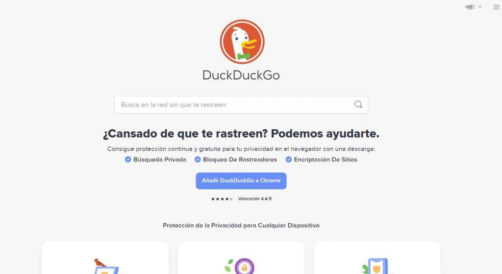 Buscadores de Internet: qué son y los más utilizados - duck duck 1024x560